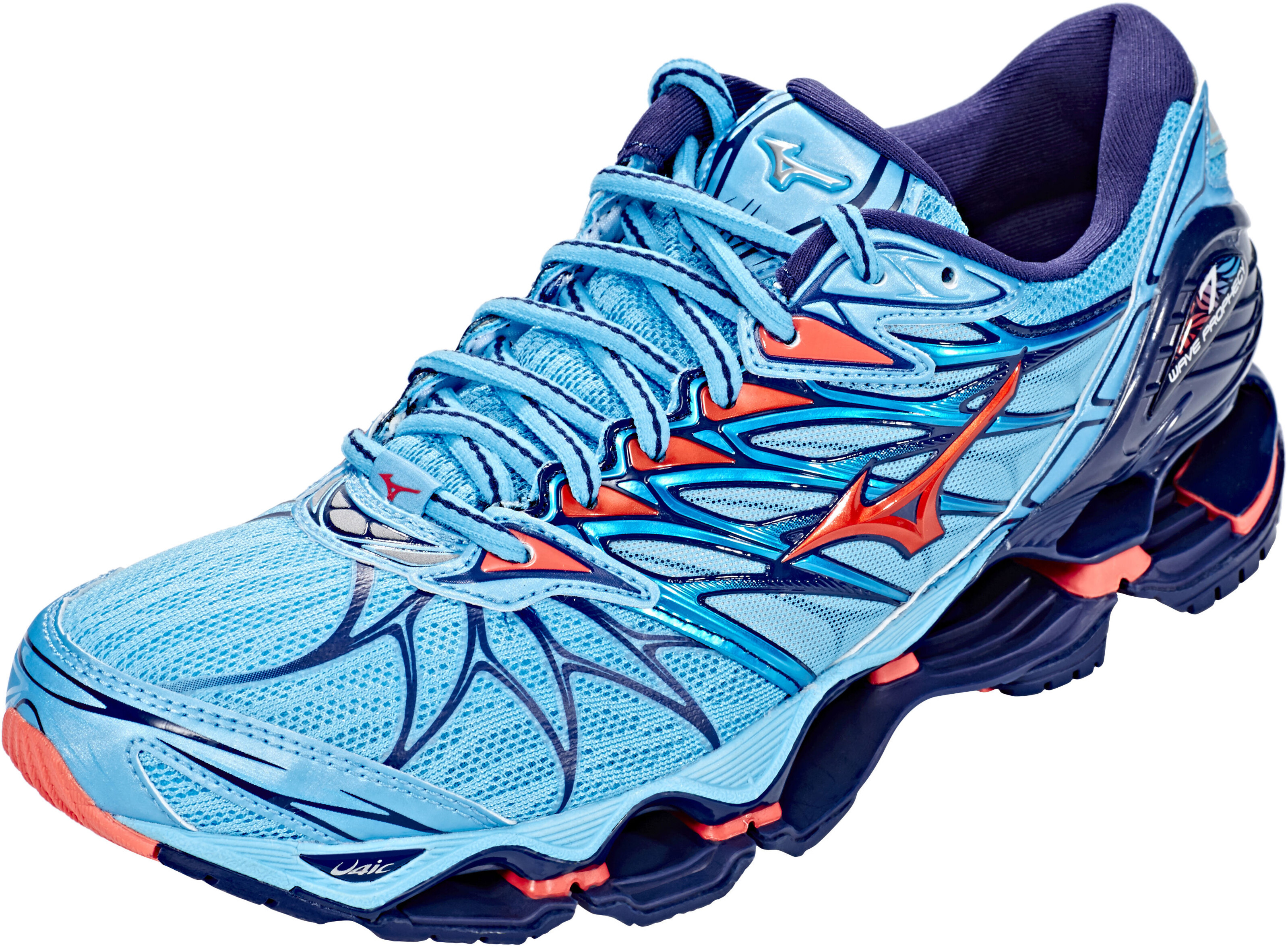 7bb03c028ad23a Mizuno Wave Prophecy 7 Running Shoes Women blue at Addnature.co.uk